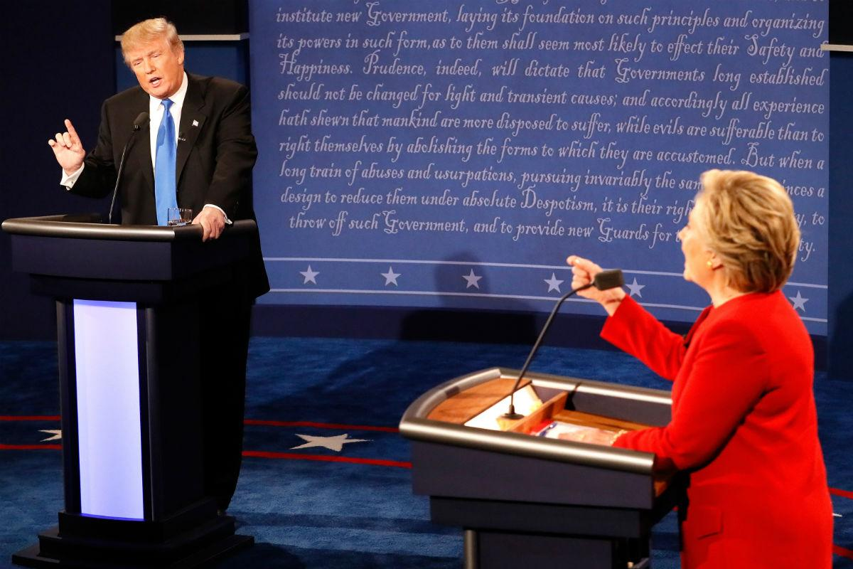 First Presidential Debate 2016