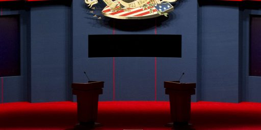 Third Party Candidates Excluded From Presidential, Vice-Presidential Debate