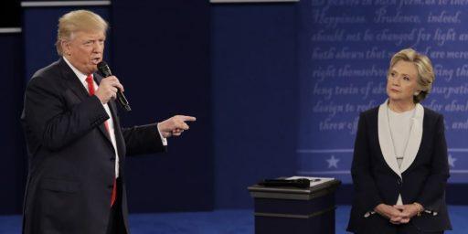 Second Debate Unlikely To Halt Clinton's Momentum