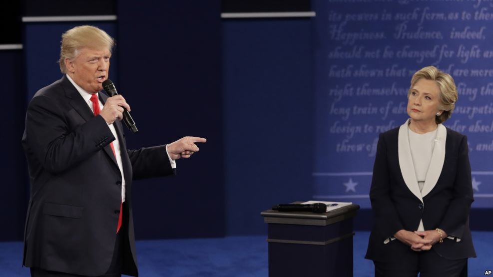 Trump Clinton Second Debate