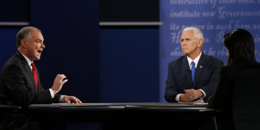Pence Probably Won VP Debate; Almost Certainly Won't Matter