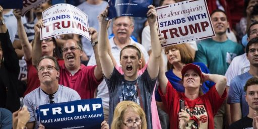 Trump:  Fear-mongering in Florida