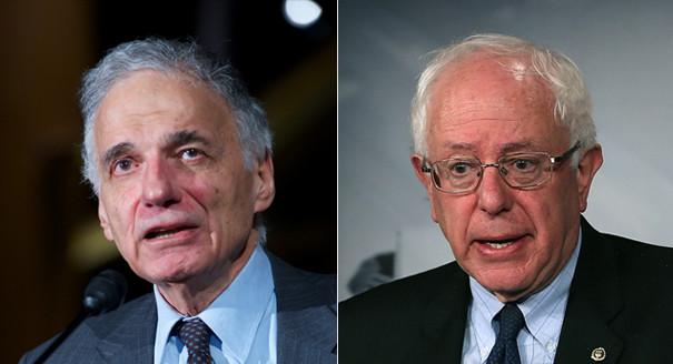 Bernie Sanders Ralph Nader