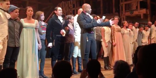Mike Pence Not Offended By Statement By Hamilton Cast