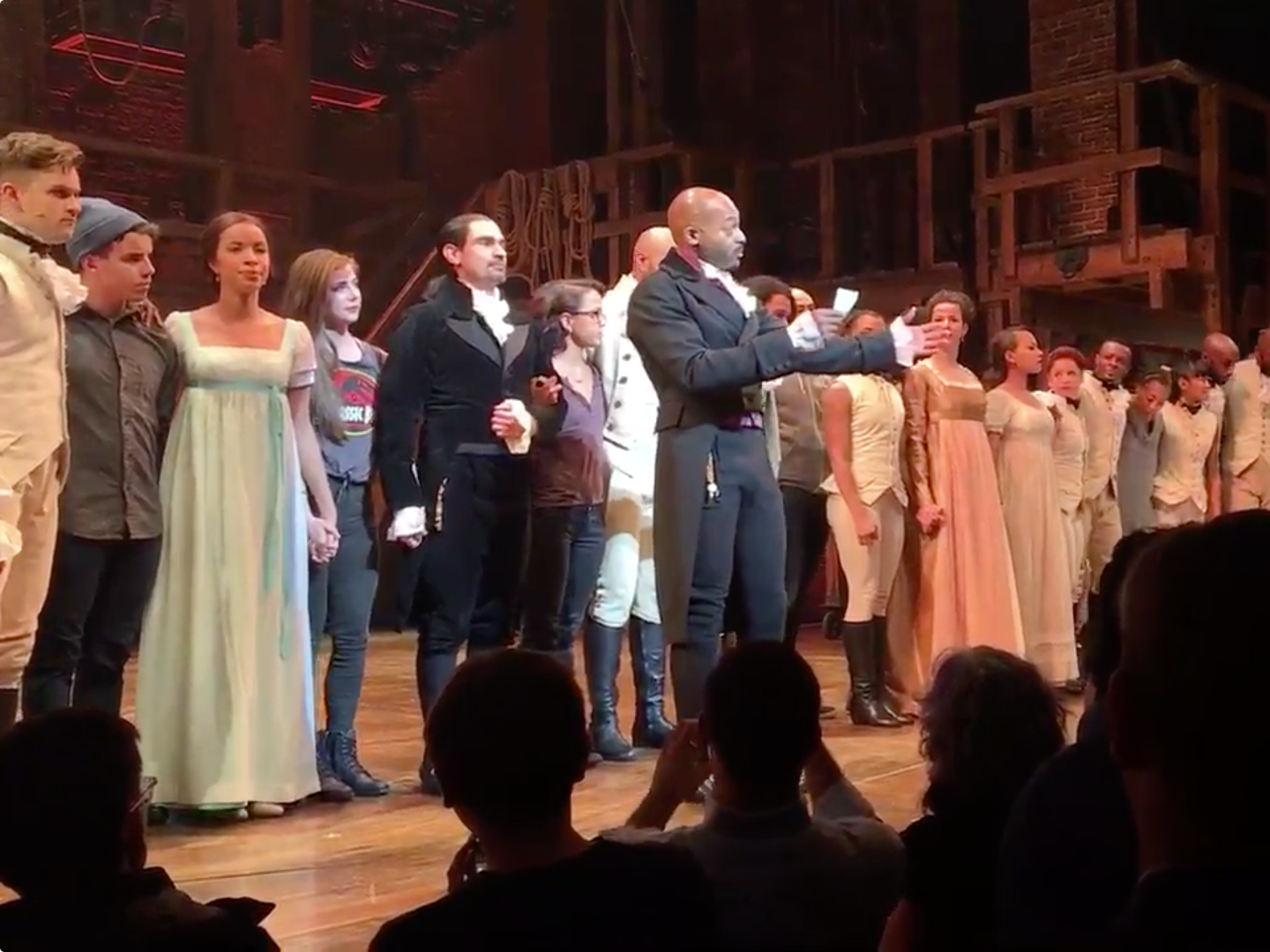 Hamilton Cast Mike Pence