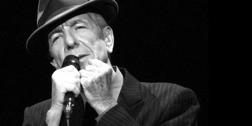 Leonard Cohen, Legendary Singer, Songwriter, And Poet, Dead At 82