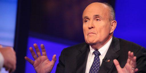 Secretary Of State Rudy Giuliani?