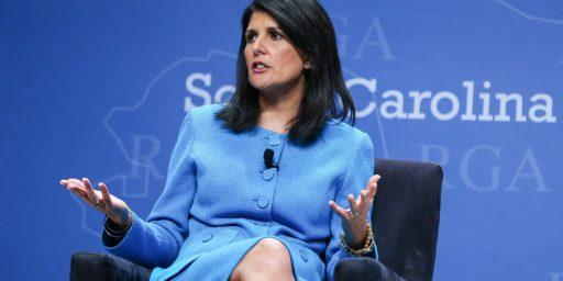 Nikki Haley to Be UN Ambassador