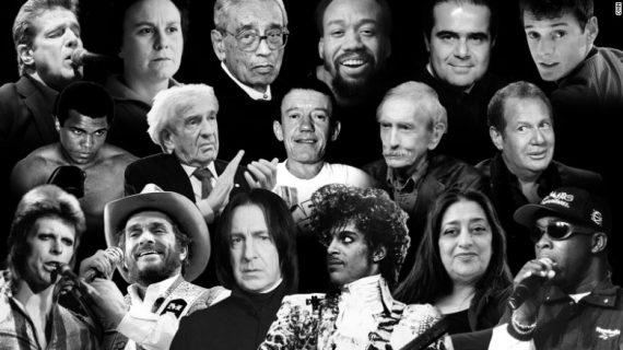 Celebrity Deaths 2016