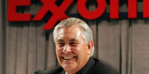 ExxonMobil CEO Rex TIllerson Reportedly Trump's Pick For Secretary Of State