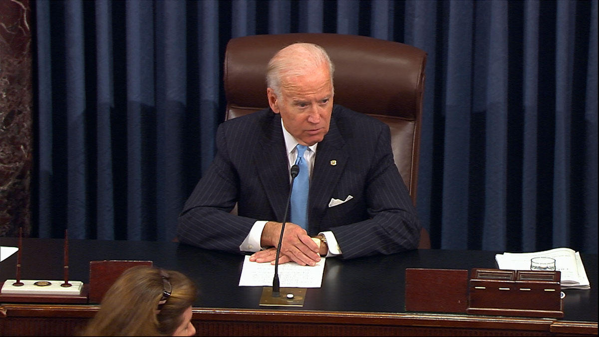 Joe Biden Senate Presiding