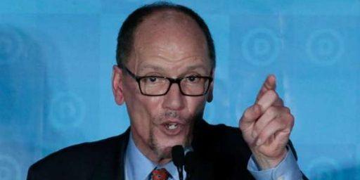 Tom Perez Elected DNC Chairman