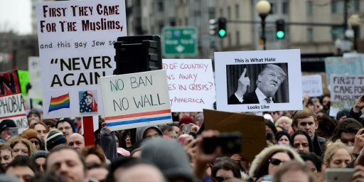 Yet Another Poll Shows Majority Disapproval Of Trump's Muslim Travel Ban
