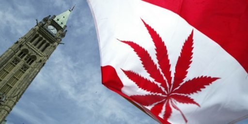 Trudeau Introduces Bill To Legalize Marijuana In Canada
