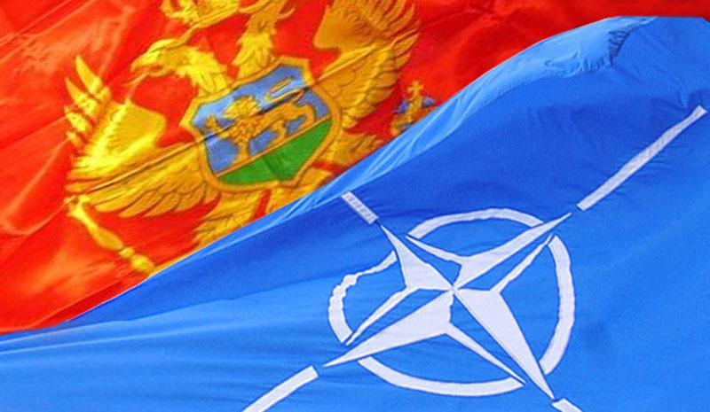 NATO Montenegro Flags