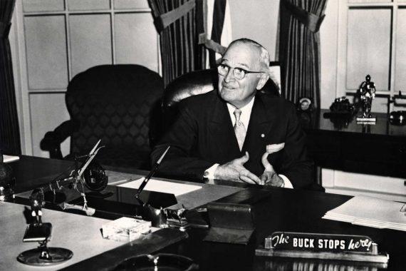 Truman Buck Stops Here