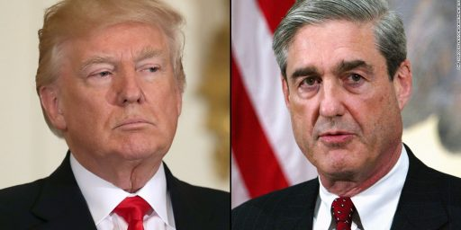 Trump Reportedly Considering Firing Special Counsel Bob Mueller