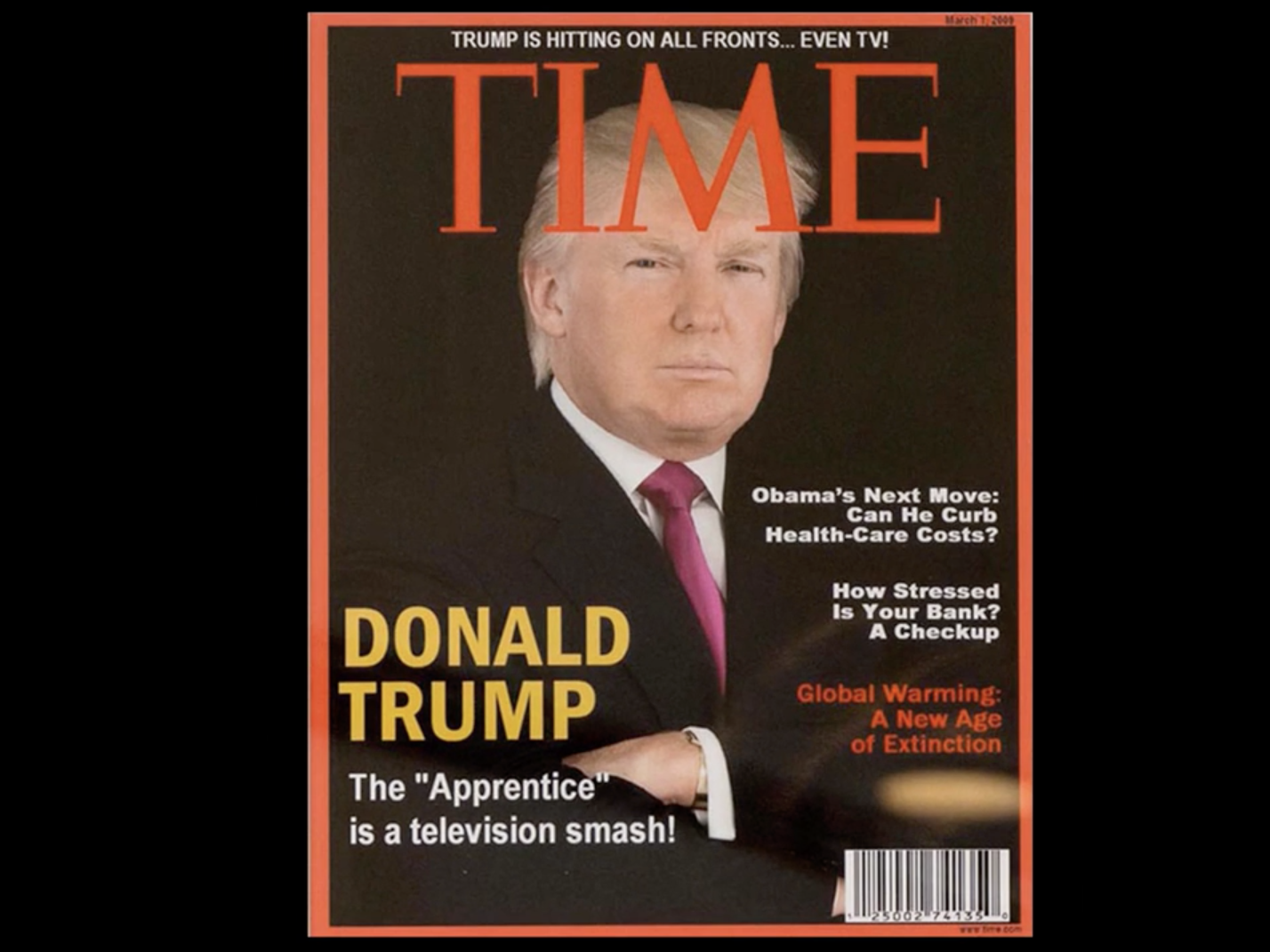Trump Fake Time Cover