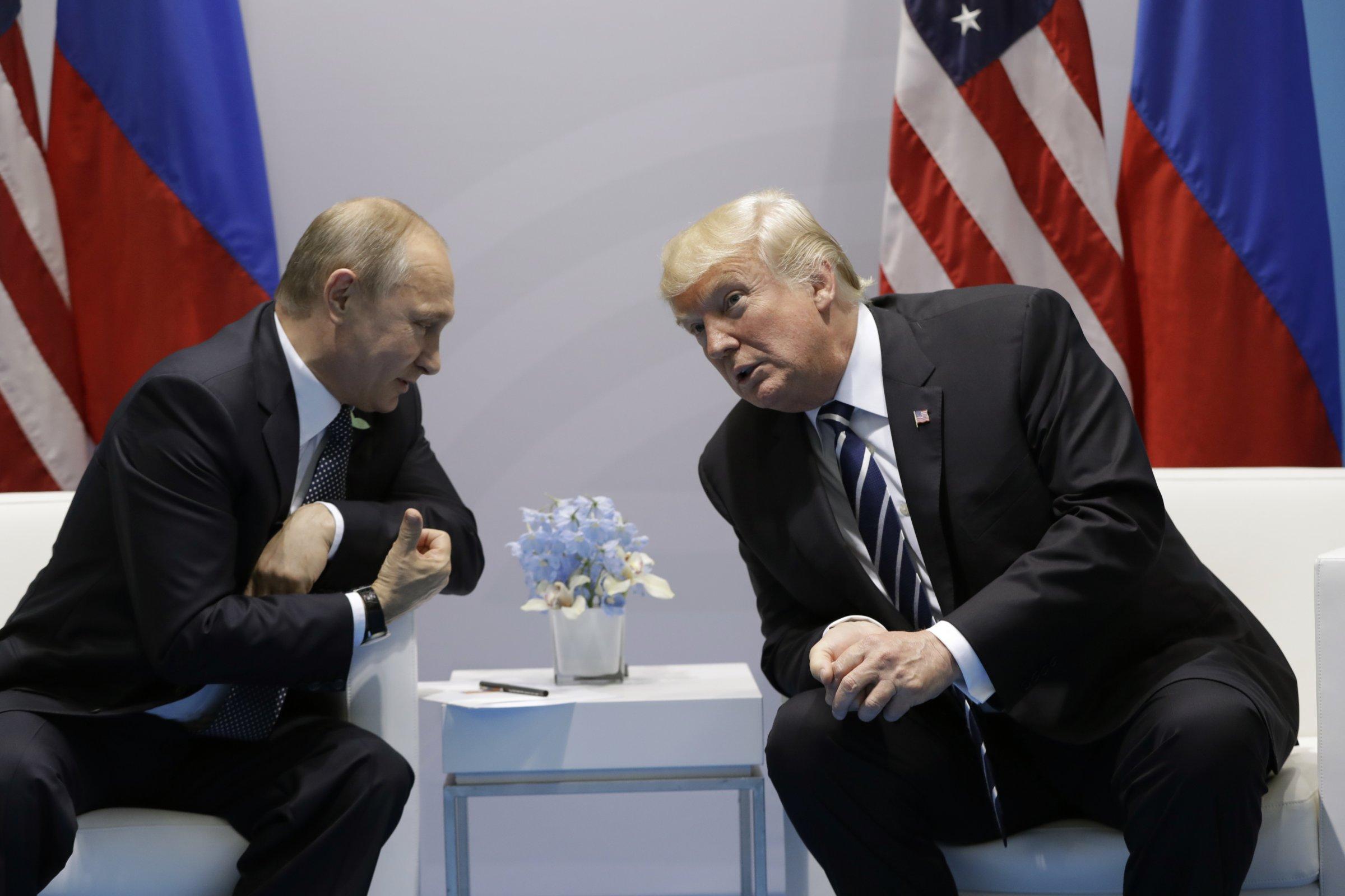 Trump Putin G-20