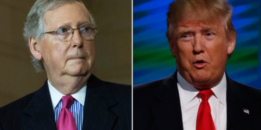 Trump And McConnell Are In A Cold War, And The GOP Agenda Is In Danger