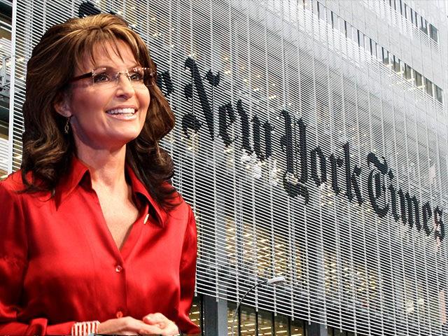 Sarah Palin NY TImes