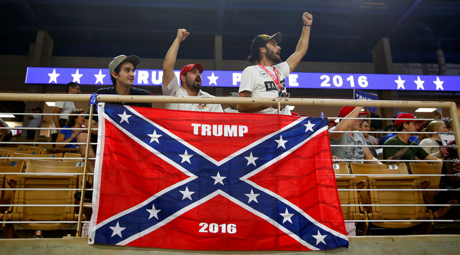 Trump Confederate Flag