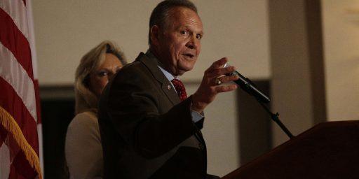 Roy Moore Likely Next Alabama Senator