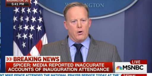 Sean Spicer Says He Regrets The Lie That Set The Tone For His Time At The White House