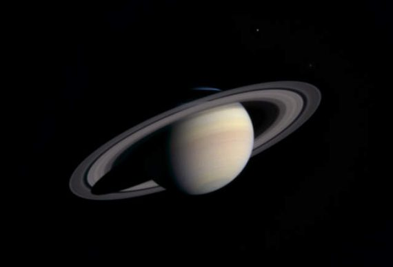Cassini Approaching Saturn