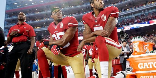 N.F.L. Won't Force Players To Stand For National Anthem