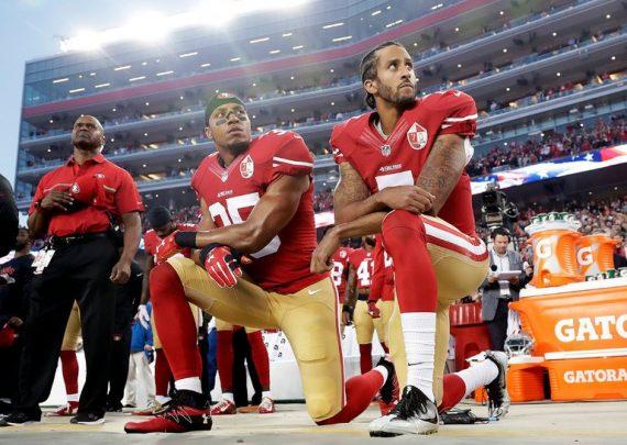 Kaepernick Kneeling Anthem