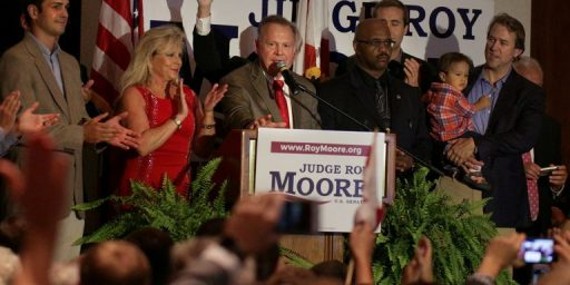 Roy Moore Wins Alabama Republican Senate Runoff