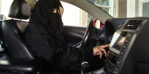 Saudi Arabia Will Finally Allow Women To Drive Alone