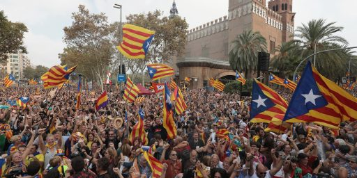 Spain Moves To Take Over Catalonia In The Wake Of Independence Declaration