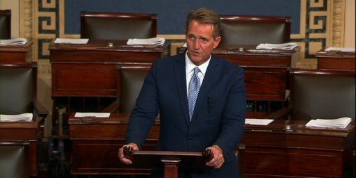 Citing Nastiness In Trump Era GOP, Jeff Flake Announces He's Retiring