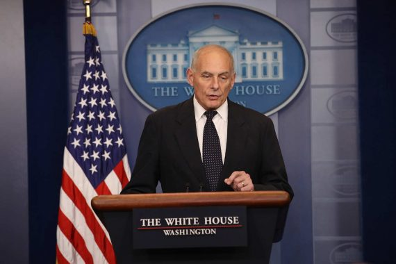 John Kelly Briefing Room