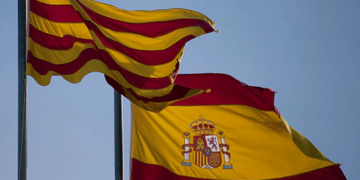 Spanish Government Threatening To Take Over Catalonian Government Over Independence Bid