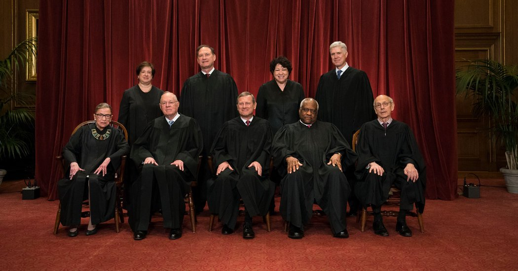 Supreme Court Justices October 2017 Term