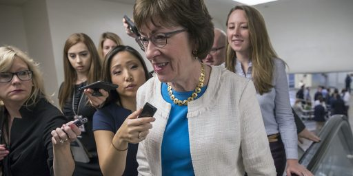 Susan Collins Forgoes Bid For Maine Governor, Will Run For Re-Election Instead