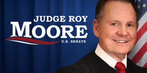 Explaining Votes for Moore