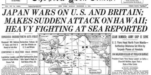 Remember Pearl Harbor?