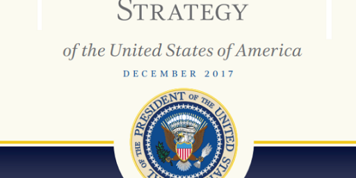 A Radically Different Security Strategy