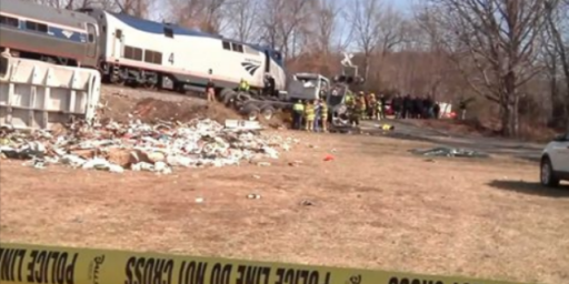 Train Carrying Republican Members Of Congress To Retreat Collides With Truck At Crossing