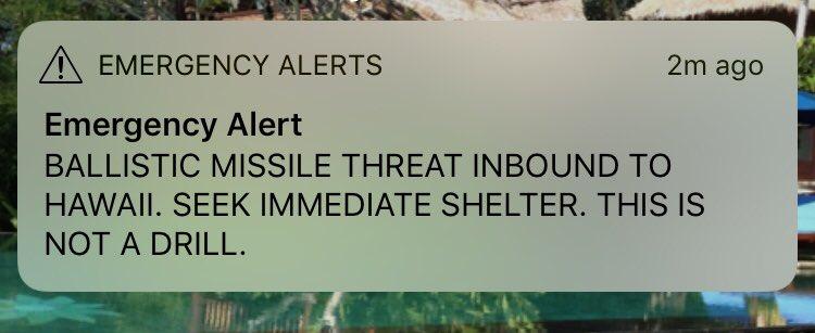 Hawaii Alert