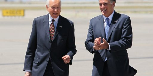 Orrin Hatch Announces  Retirement, Opening The Door For Mitt Romney
