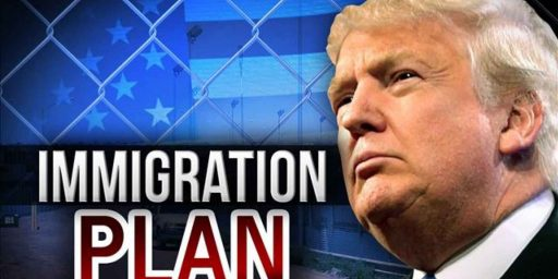 Trump's Immigration Plan Meeting Opposition, From Republicans