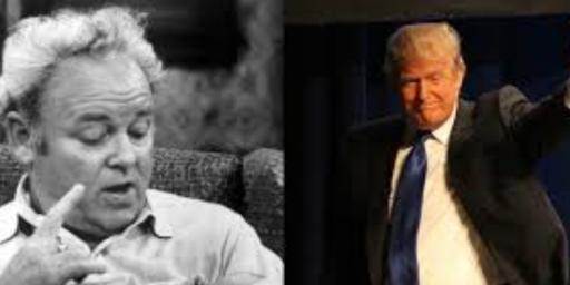 Donald Trump Channels Archie Bunker