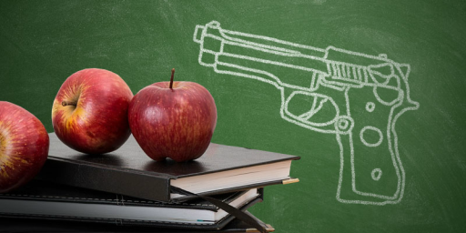 Trump Floats Idea Of Arming School Teachers