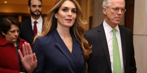 Hope Hicks Out as Communications Director