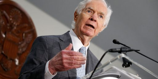 Thad Cochran Resigning from Senate Effective April 1